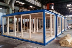 Свое производство быстровозводимых зданий из качественных материалов